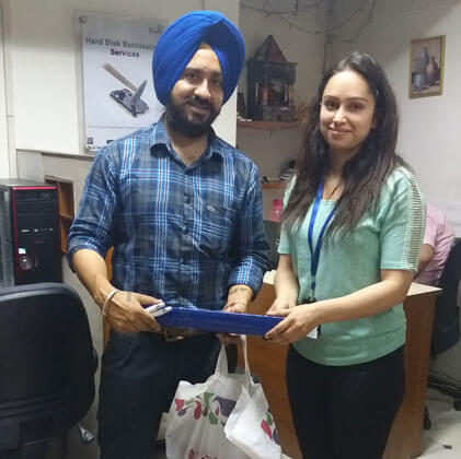Happy Customers Chandigarh - Client 40