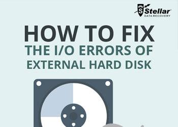 How to fix Hard Disk I/O Errors