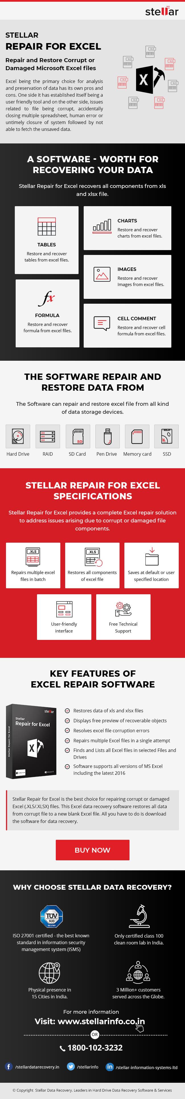 Stellar Repair for Excel