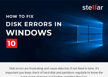 Tip to Fix disk errors in Windows 10