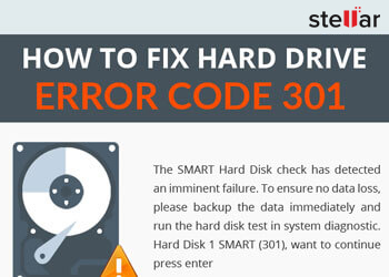 How to Fix Hard Drive Error Code 301