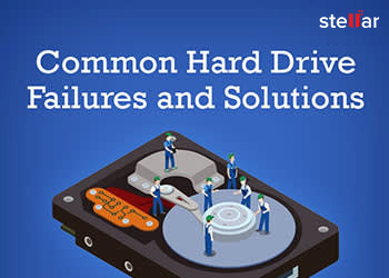 Common Hard Drive Failures and Repair Solution