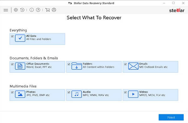 Recover data from Disk