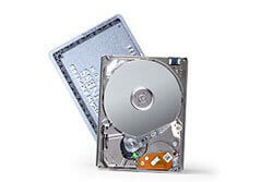Toshiba MK4007 GAL, 40GB on one 1.8-inch platter( 2005)