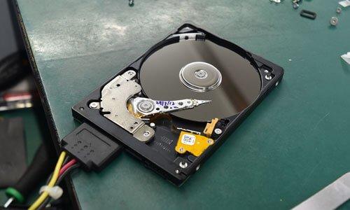 Damaged Hard Disk