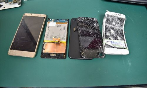 Damaged Smartphones