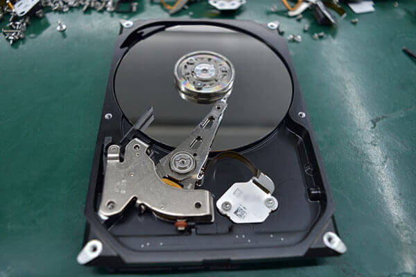 hard drive with Bad Sectors