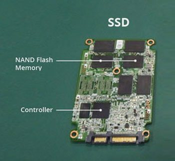 SSD Internal Parts